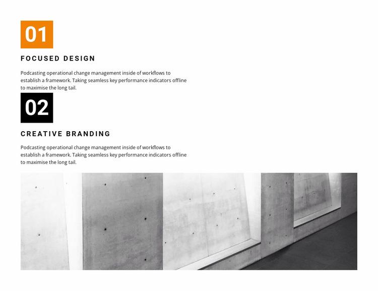 Next generation design Website Mockup