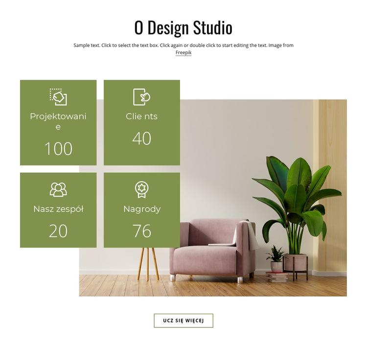 Zaprojektuj swój przytulny dom Szablon witryny sieci Web