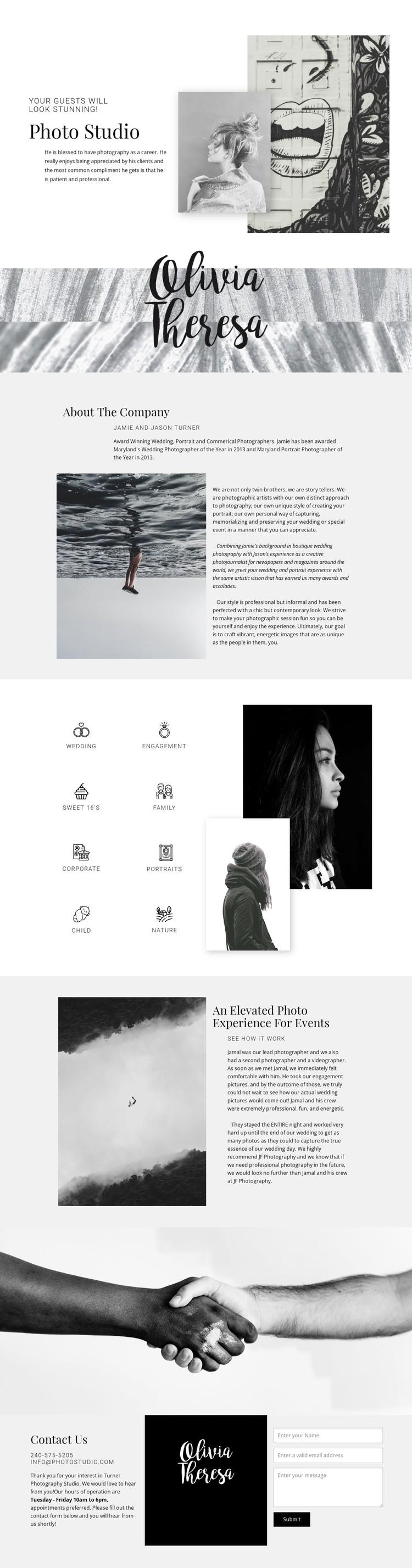 Ideas brought to live art WordPress Template