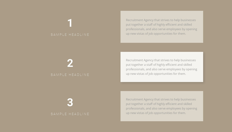 Three step-by-step plans Joomla Page Builder