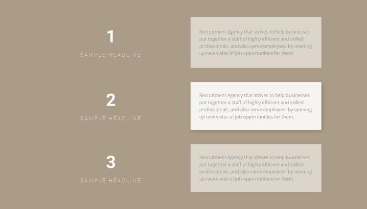Three step-by-step plans WordPress Website Builder