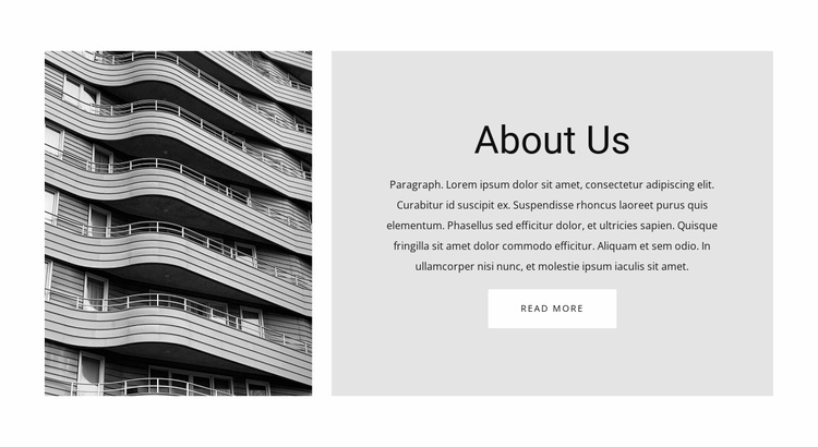 More information about Website Template