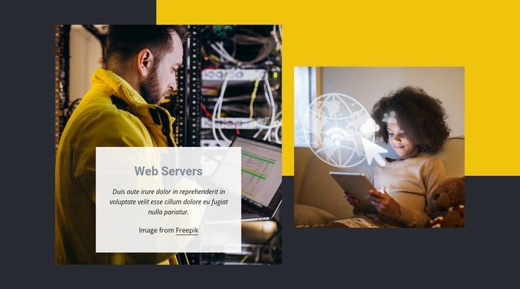 Cost-effective web hosting Web Page Designer
