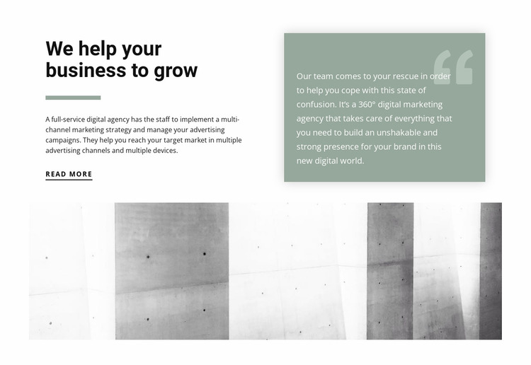 Invaluable Business Tips Website Mockup