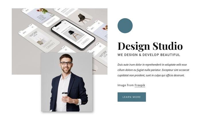 Award winning design agency Html Code Example