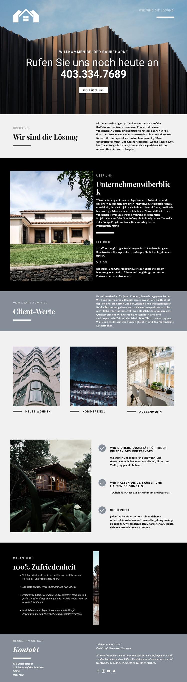 Lösungen für Immobilien WordPress Theme