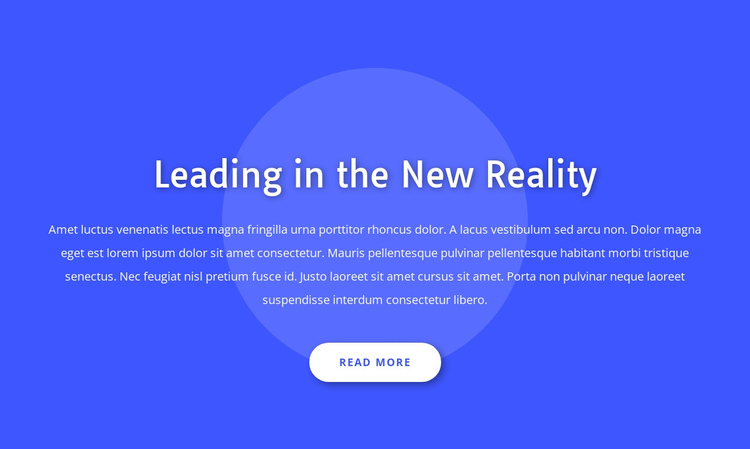 Leading in the new reality Website Builder Software