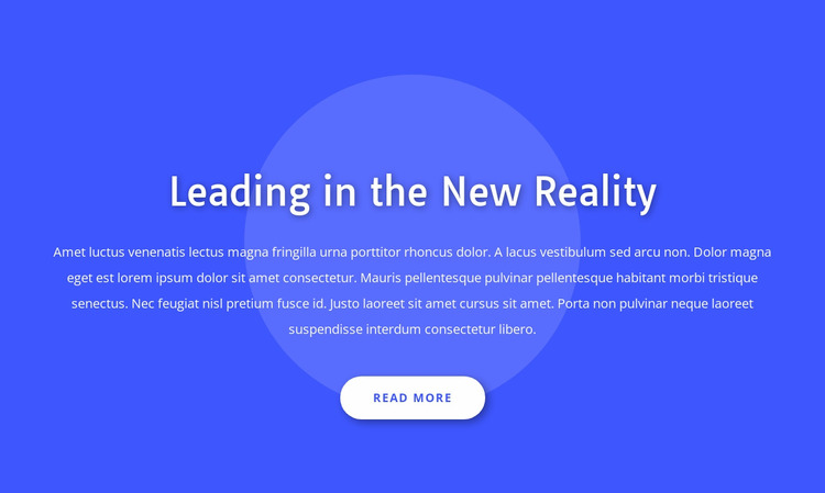 Leading in the new reality WordPress Website Builder