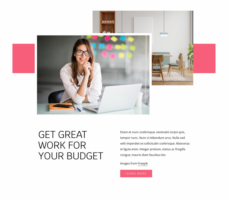 Interior help Website Template