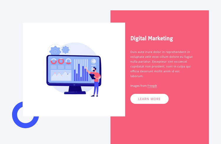 Automate your data transfers Website Mockup