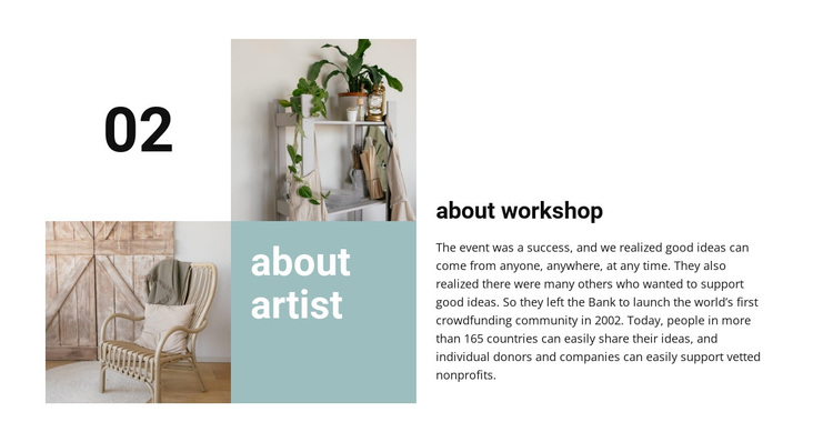 About workshop Template