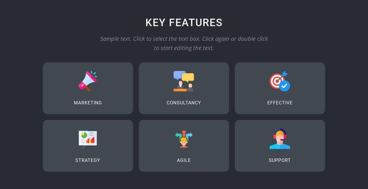 Expert branding services HTML Template