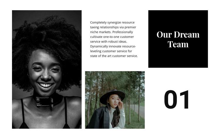 Our dream team Website Builder Software