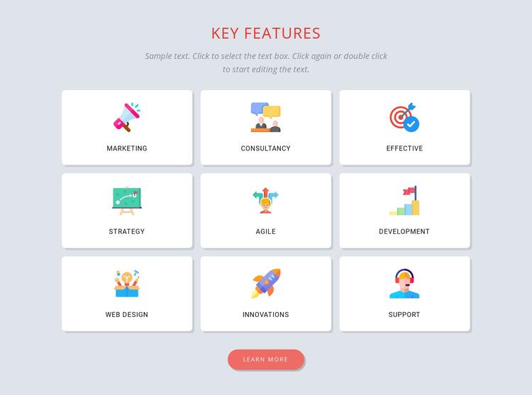 Building a brand identity Joomla Template