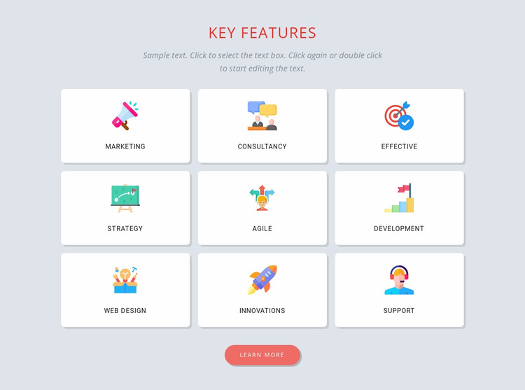 Building a brand identity WordPress Website Builder