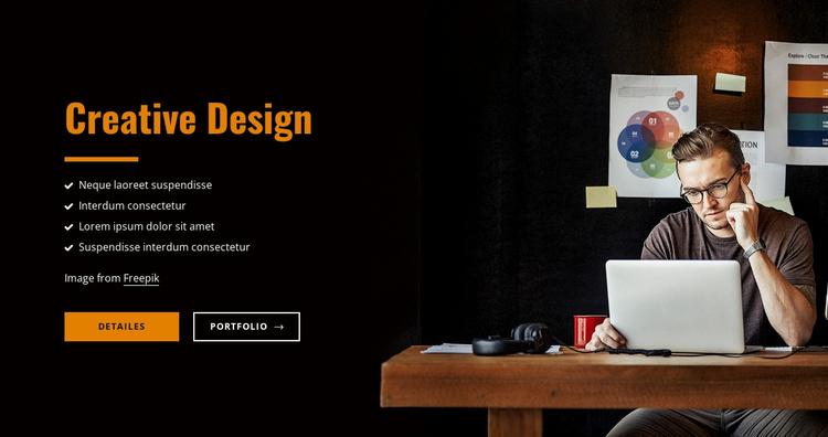 Design branding made simple Website Template