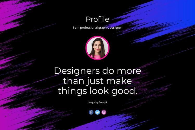 Professional website design WordPress Website Builder