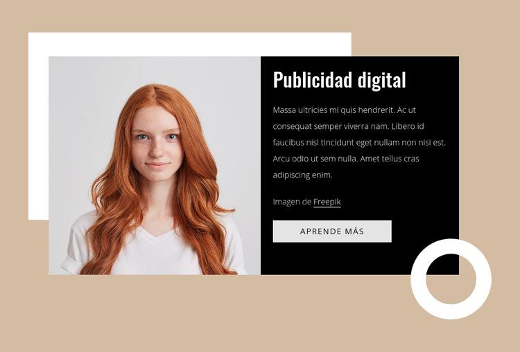Consultores de marketing Plantilla de sitio web