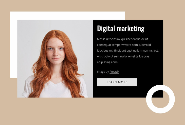 Marketing consultants Website Template