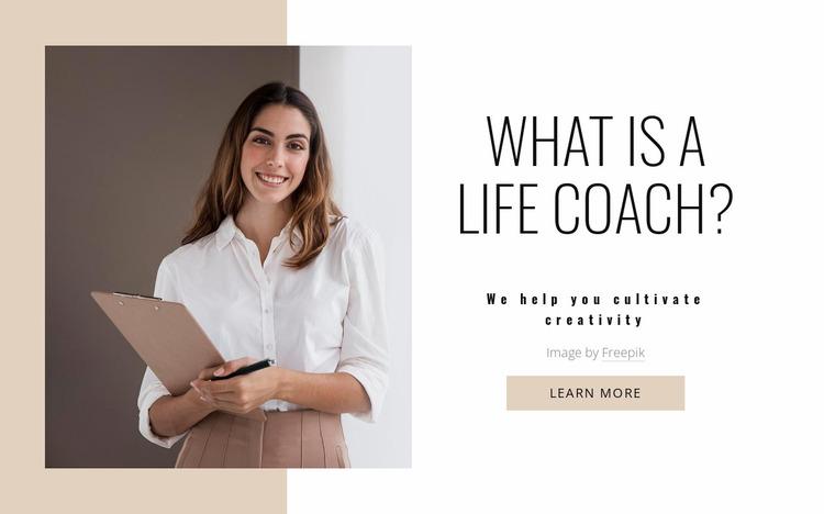 Transform your mindset Website Mockup
