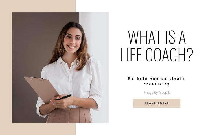 Transform your mindset Website Template