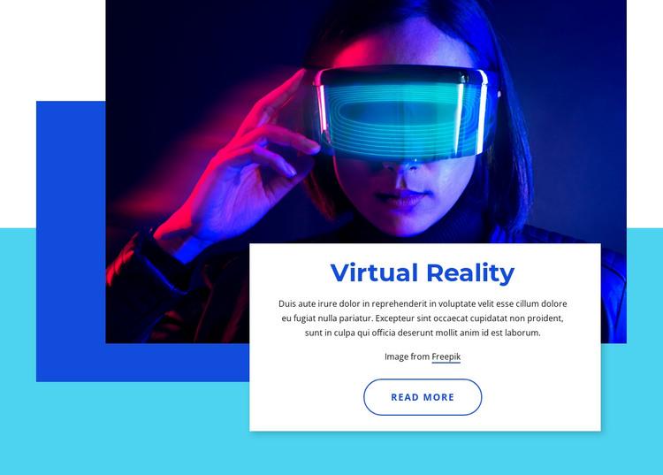 Virtual reality 2021 HTML Template