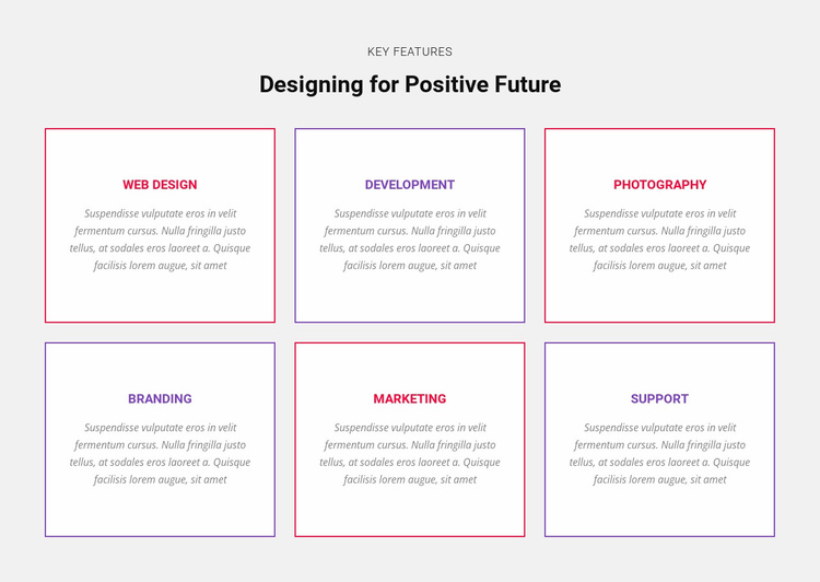 Essential business skills Landing Page