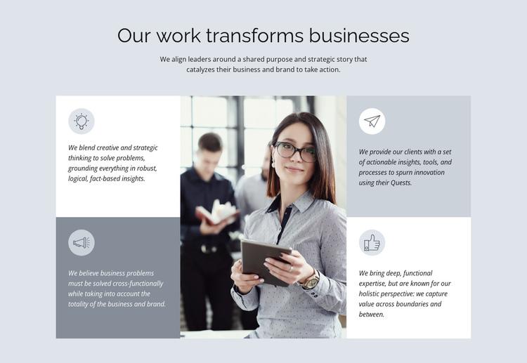 Legendary consulting firm Website Builder Software