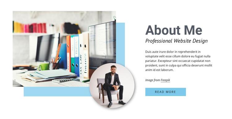 Professional web design WordPress Theme