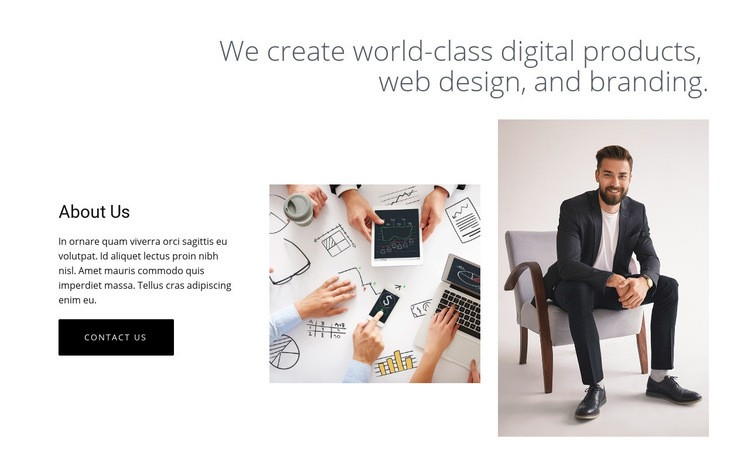 Digital products and web design Web Page Designer