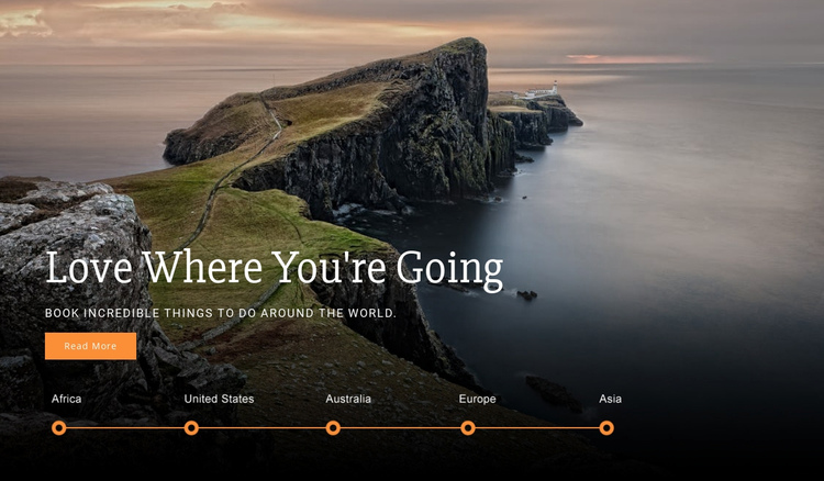 Youre Travel One Page Template