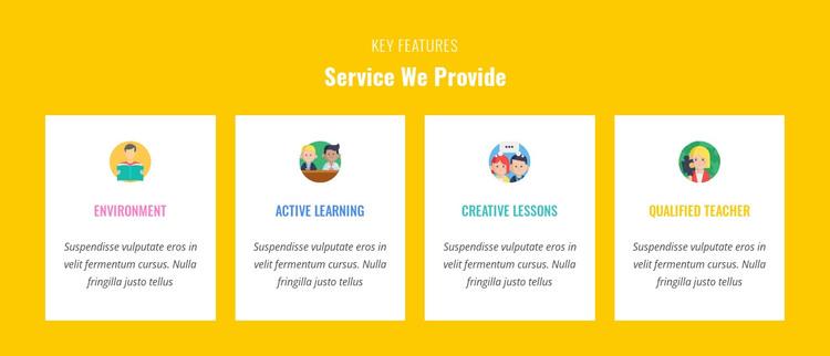 Features Our Service Provide Web Design