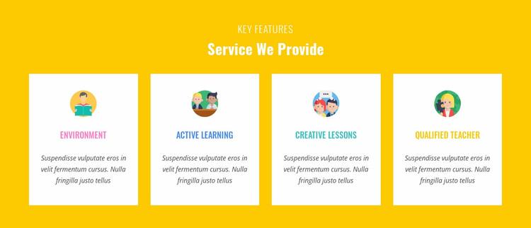 Features Our Service Provide Website Design
