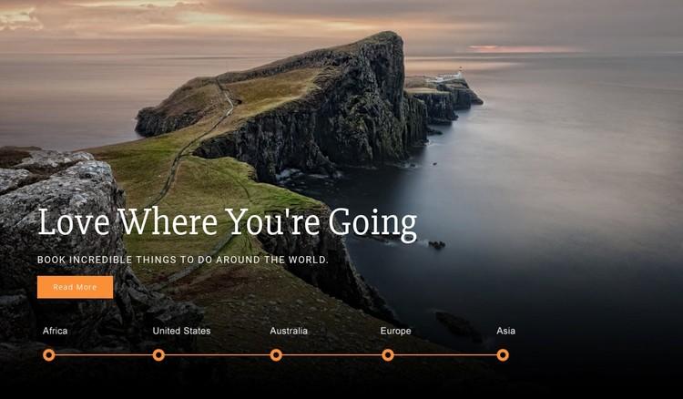 Youre Travel WordPress Template