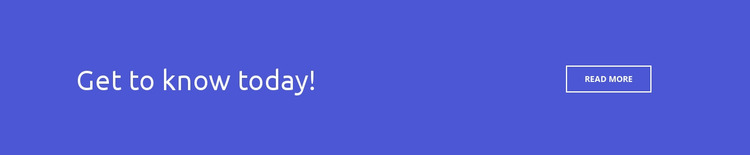 Button Get to Know Today WordPress Website Builder