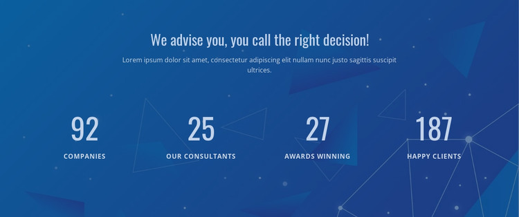 Counter Our Result HTML Template