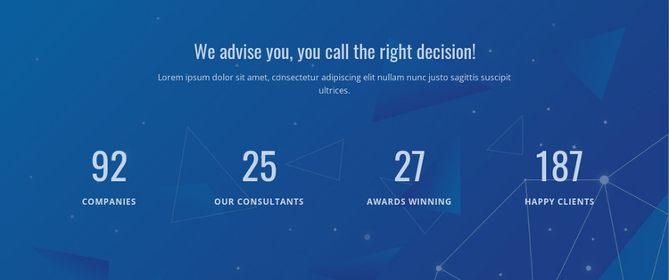 Counter Our Result Website Template