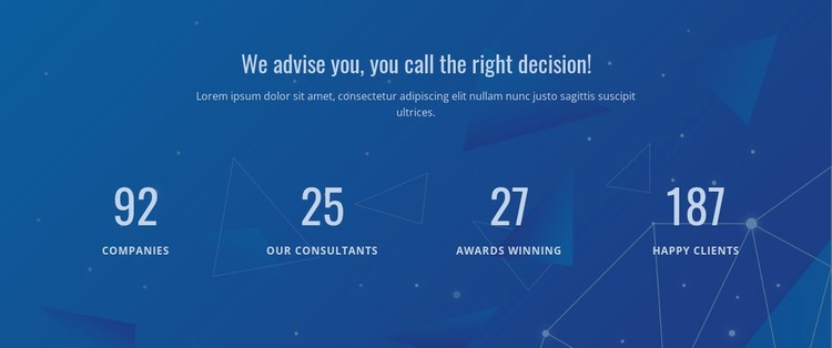 Counter Our Result WordPress Template