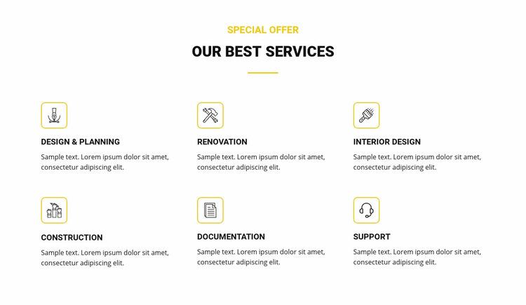 Our Best Services WordPress Website