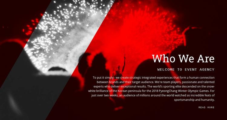 Who we are WordPress Website Builder