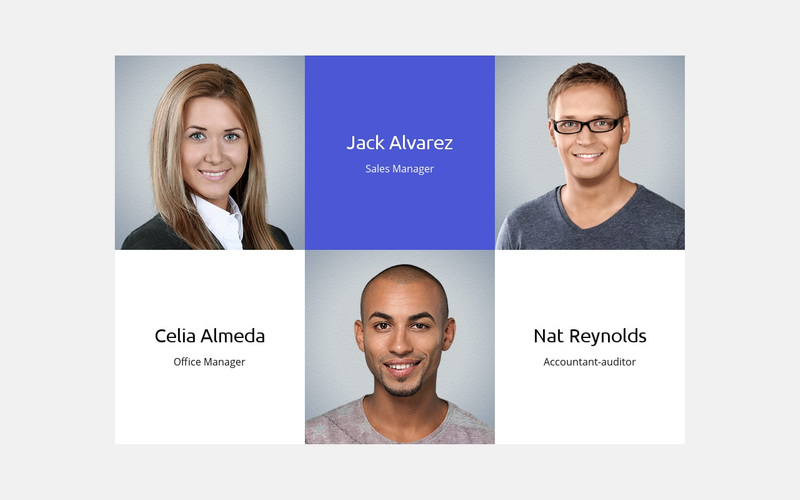 About our business team  Web Page Design