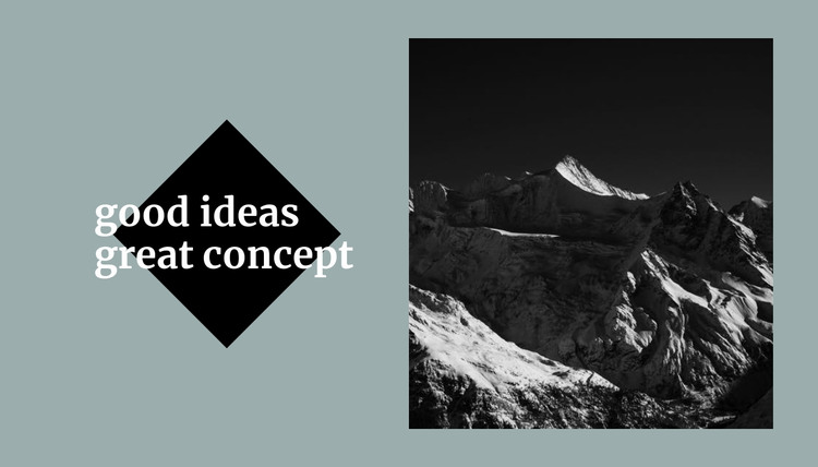 Conceptual solutions HTML Template