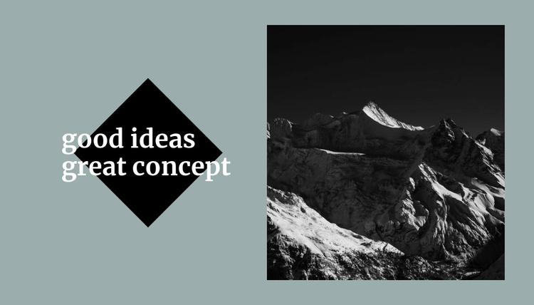 Conceptual solutions Website Template