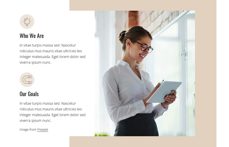 Benefits of business coaching HTML Template