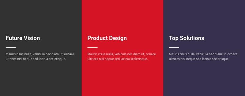 Plain Text Web Page Design