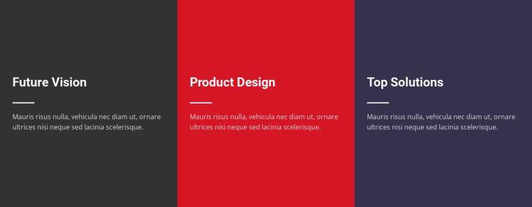 Plain Text Website Mockup