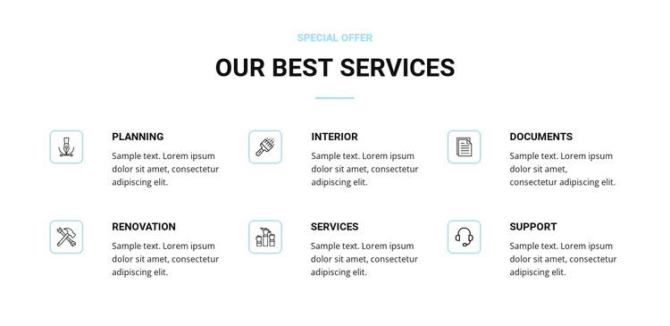 Home renovation services Joomla Page Builder