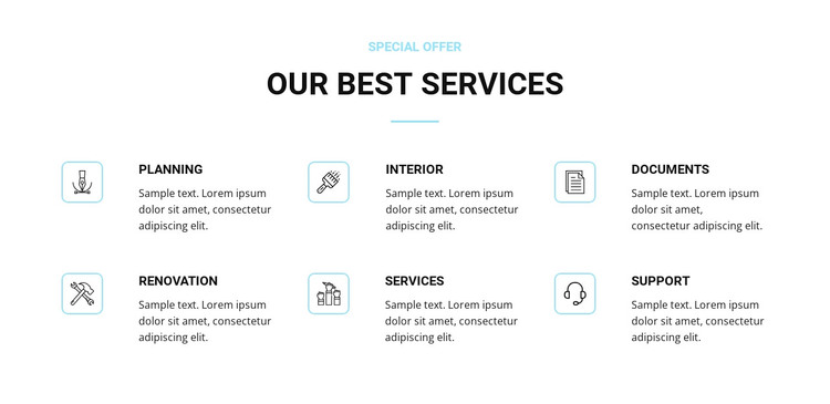 Home renovation services Woocommerce Theme