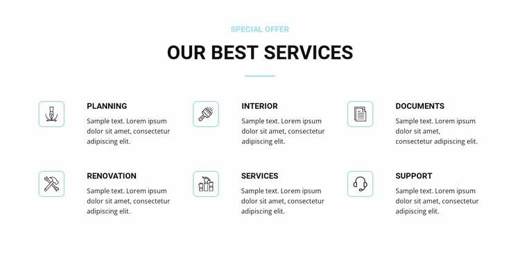 Home renovation services WordPress Website Builder
