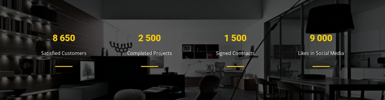 CSS counters HTML Template